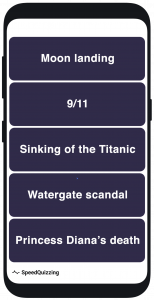 speedquizzing sequence question